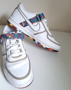 Nike and The Swoosh Pack Multi Color Shoes